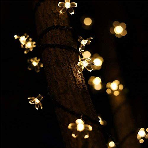 Techno E-Tail 0.05W Fairy String Lights, Warm White, Flower