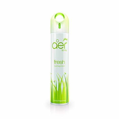 Godrej aer spray, Home & Office Air Freshener - Fresh Lush Green (240 ml)
