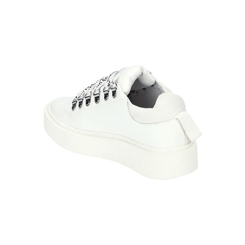 Truffle Collection white lace-up sneakers