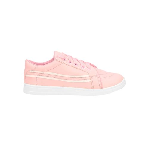 QUARKS pink lace-up sneakers