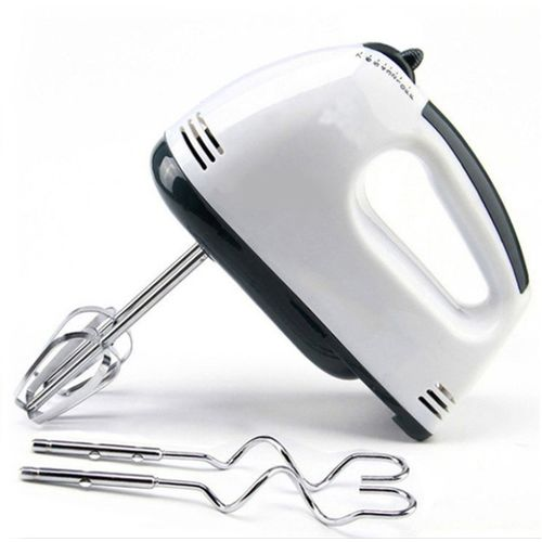 Royatto Egg Beater,Lassi,Butter Milk Maker,Cakes Hand Mixer 220 W Electric Whisk(White)