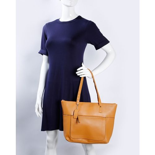 Fig Tote Bag with Double Grab Handles