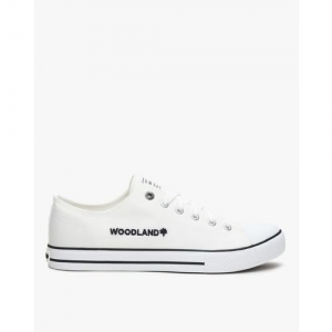 WOODLAND Lace-Up Sneakers with Branding