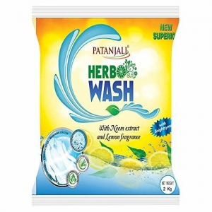 Patanjali Herbo Wash Detergent Powder - 2 kg