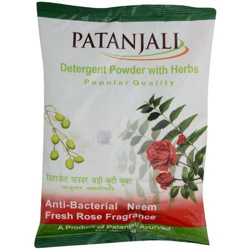 Patanjali Popular Detergent Powder with Herbs - Detergent Powder 1 kg(Neem & Rose)