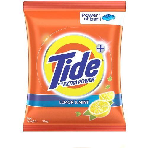 TIDE Plus lemon Detergent Washing Powder - 1 kg Detergent Powder 1 kg