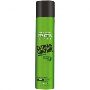 Garnier Fructis Style Anti-Humidity Hairspray Extreme Control, Extreme Hold, 8.25 Ounce