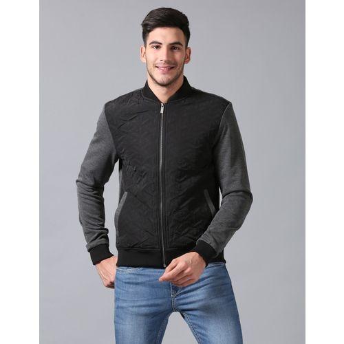 True Blue Full Sleeve Color Block Men Jacket