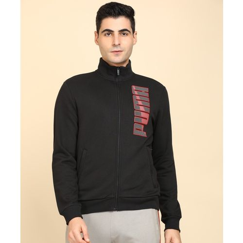 Puma Full Sleeve Printed Men Jacket