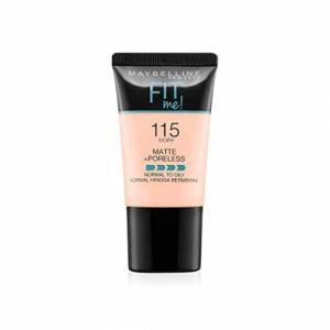 Maybelline New York Fit Me Matte+Poreless Liquid Foundation Tube, 310 Sun Beige, 18ml