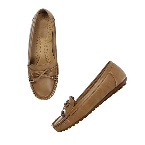 CatBird Brown Leather Latest Casual Moccasins