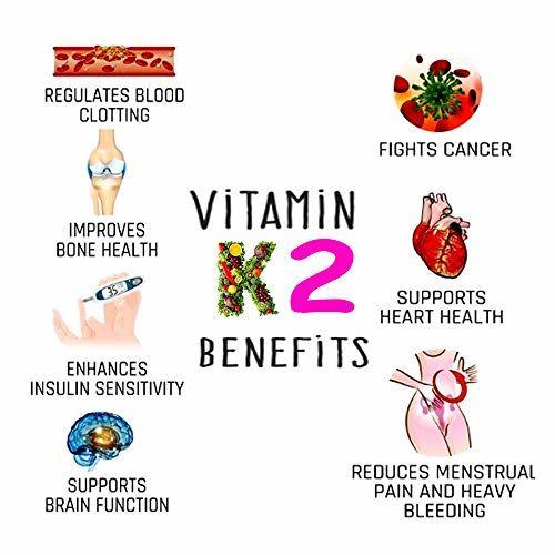 ClearCut Vitamin D3 5000 IU, Vitamin k2 90 mcg, Vitamin B12 200 mcg, Calcium 100mg,120 Tablets
