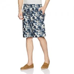 Van Heusen Athleisure Multicolour Cotton Printed Lounge Shorts