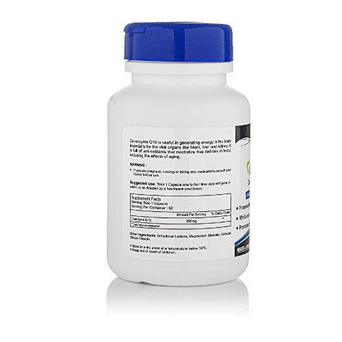 Healthvit High Absorption Co-Qvit Coenzyme Q10 200mg 60 Capsules