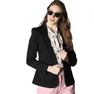 VERO MODA Black Synthetic Regular Fit Blazer