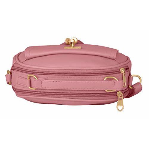 Tap Fashion Women Double Tassel Handbag And Sling Bag with Adjustable Strap