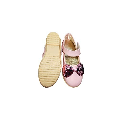 Footonrest Pink Synthetic casual Girls' Ballies