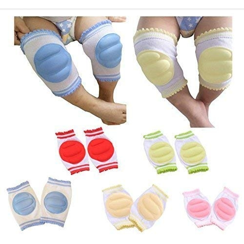Mom care Baby Knee & Elbow Guard/pad for Crawling Babies Safety Protector Comfortableal for 6-12 Months Babies.