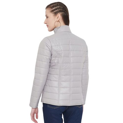 Purys zip up quilted jacket
