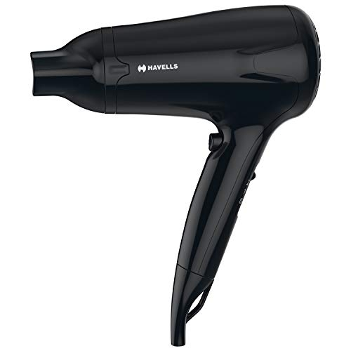 Havells HD3162 Men's Hair Dryer with Thin Concentrator -1565 W (Black)