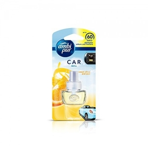 Auto Pearl Ambi Pur Sweet Citrus and Zest Car Air Freshener Refill (7. 5 ml)