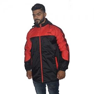 HUDBIL Black & Royal Windcheater/Jacket for Men(XL) 42 Size