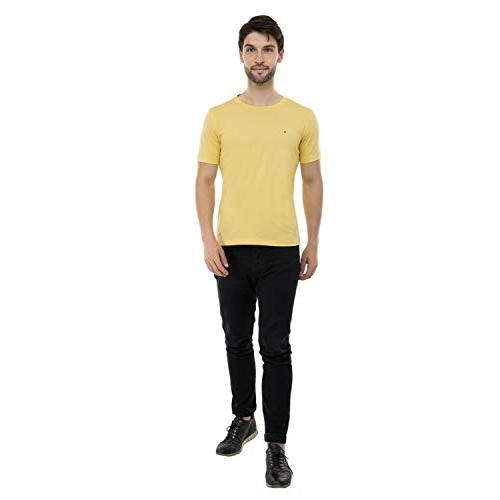 USI Uni Style Image Mens Yellow Polo T-Shirt