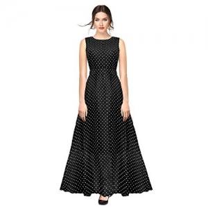 ILLI LONDON Black  A-Line Maxi Dress