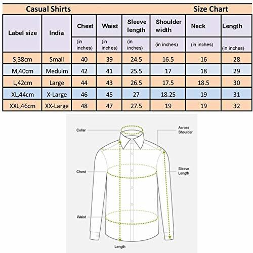 Go Stylish Men's Formal Checkered Shirt