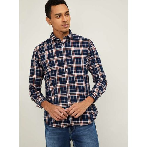 KILLER Men Checked Slim Fit Casual Shirt