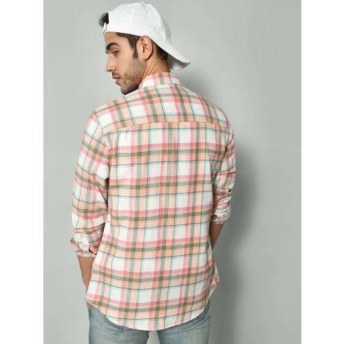 Blue Saint Madras Check Long Sleeve Shirt