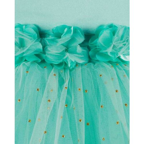 TOY BALLOON Embellished Fit & Flare Dress