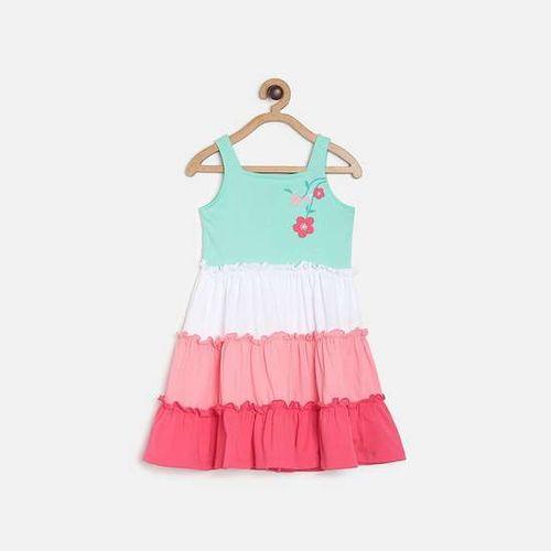 FS MINI KLUB Printed Tiered A-line Dress