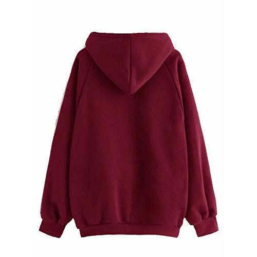 The SV Style Unisex Plain Maroon Hoodie/Hoodie for Men & Women/Warm Hoodie/Unisex Hoodie