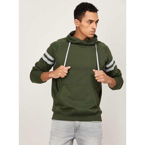 PARX Men Striped Casual Sweatshirt