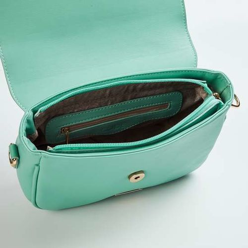 CODE Women Solid Sling Bag with Bow Detail