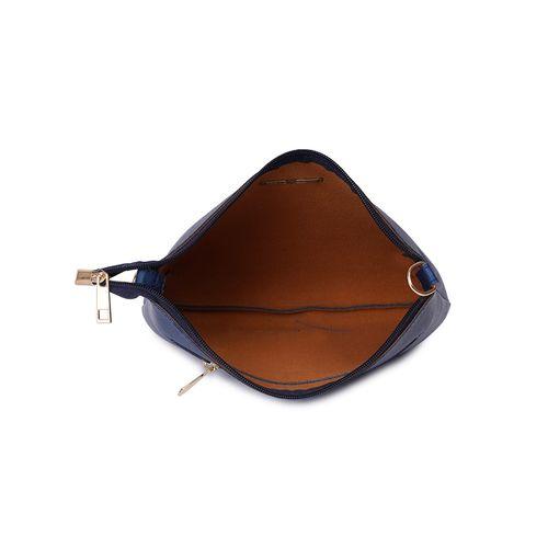 Lapis O Lupo blue leatherette (pu) regular sling bag