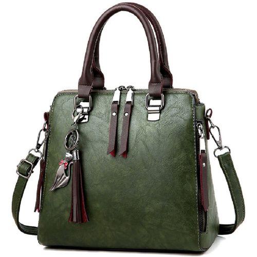VISMIINTREND Green Sling Bag