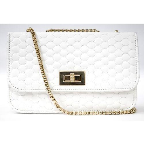 Pursify White Sling Bag