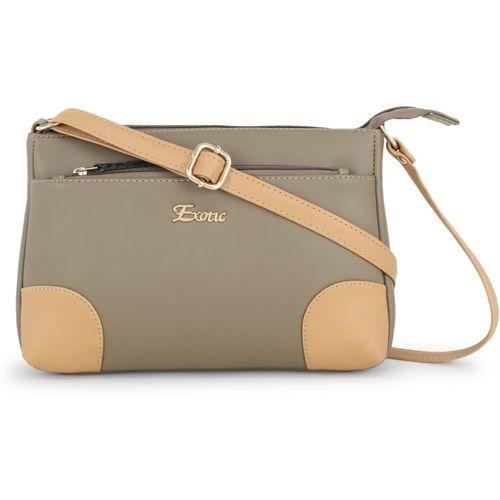 Exotic Khaki Sling Bag