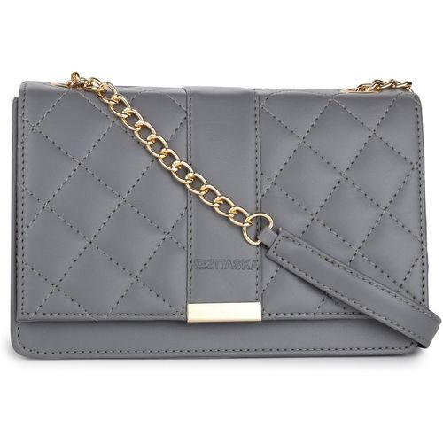 Kezitaska Grey Sling Bag