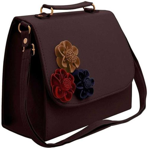 HerCraft Brown Sling Bag