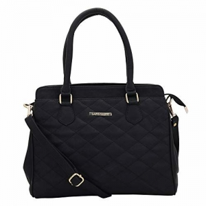 Lapis O Lupo Women's Handbag (LLHB0037BK_Black)