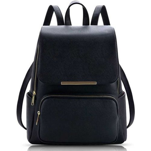 DN Creation Casual Backpack Bags For Girls 10 L Backpack(Black)