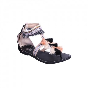 AMICA SLEXIA black closed back sandals