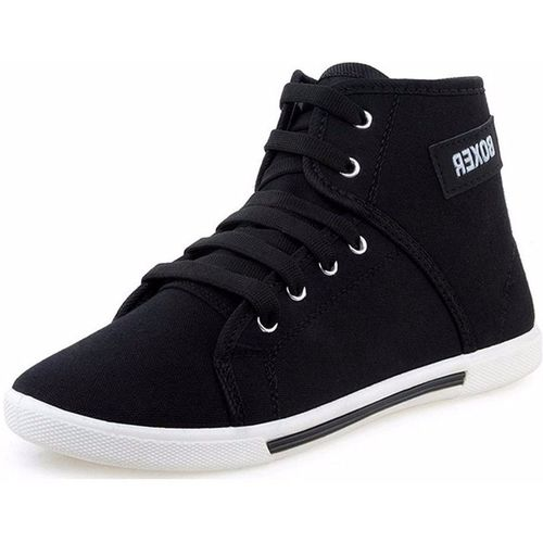 Aura Stylish and Comfortable Sneakers For Men(Black)