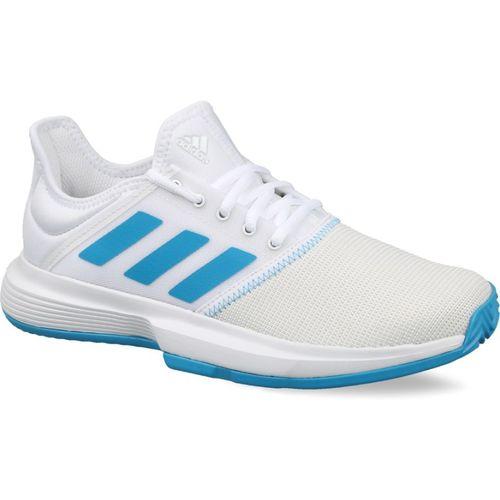 ADIDAS GAMECOURT W Tennis Shoes For Women(White)