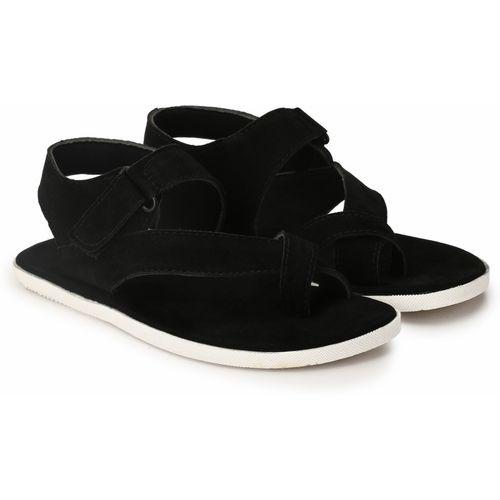 BIG FOX Men Black Sandals