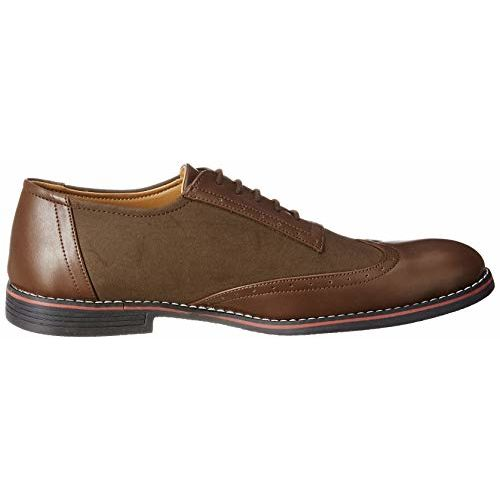 Amazon Brand - Symbol Men's Brown Synthetic Formal Shoes - 6 UK (AZ-KY-298A)