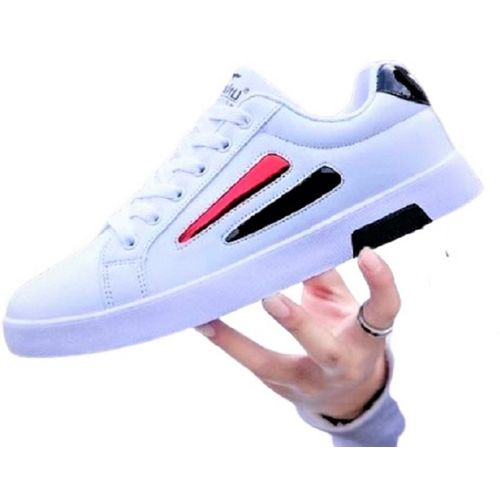 luxury fashion Fashionable casual sneaker shoes Sneakers For Men(White)